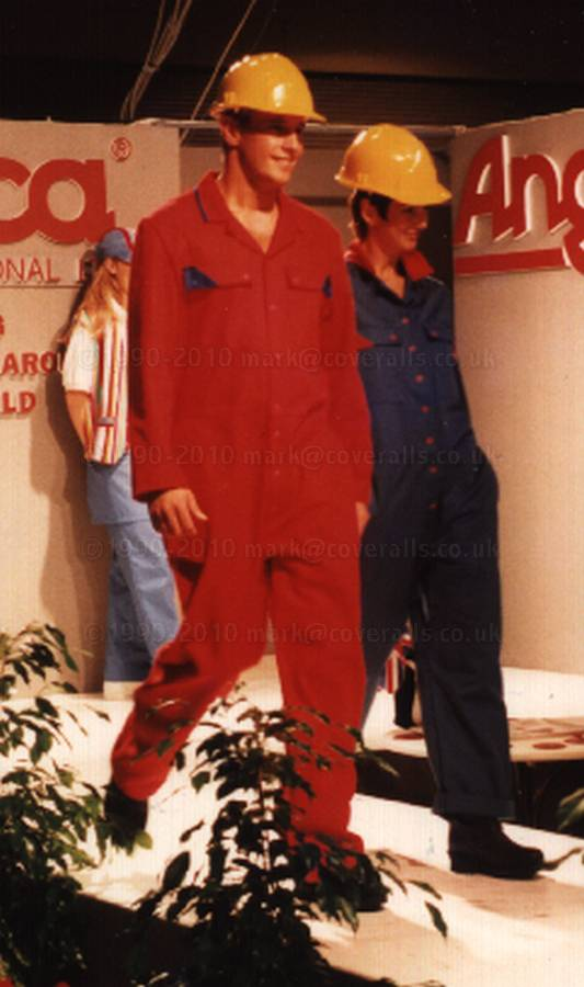 Red and Blue overalls 1