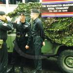 Army guys in Black overalls at Lord Mayor's Show 1998