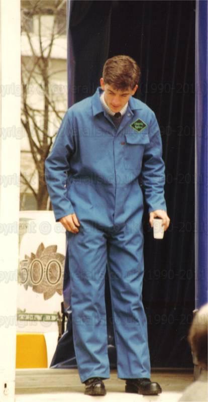 Guys Wearing Overalls Guys Wearing Blue Overalls