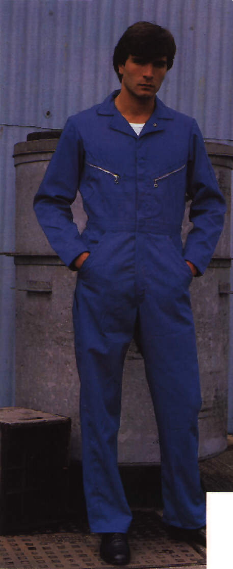 1f64c9c103 Picture of Catalogue Images - Guy wearing blue Dickies Coverall ...