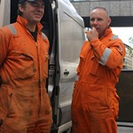 Two Electricity workmen