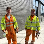 Engineers Orange Boilersuits