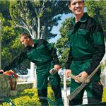 Catalogue pictures of guys wearing standard coveralls