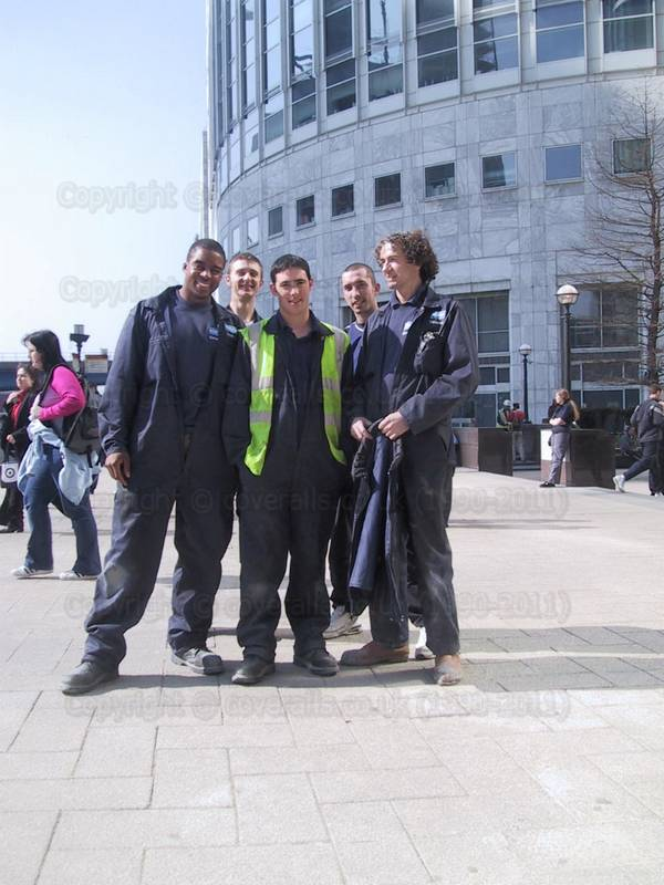 Picture of Kone Lift Engineers at Canary Wharf