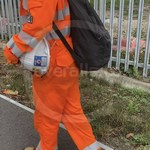 Young lad wearing an Orange ProGARM Boilersuit 11