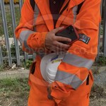 Young lad wearing an Orange ProGARM Boilersuit 4