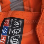 Young lad wearing an Orange ProGARM Boilersuit 7