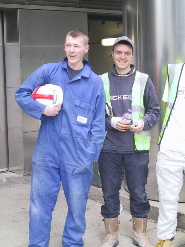 Lads in workgear 8