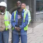 Lads in workgear