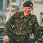 Young Army Cadet Lord Mayors Show wearing DPM kit Lord Mayors Show 2001