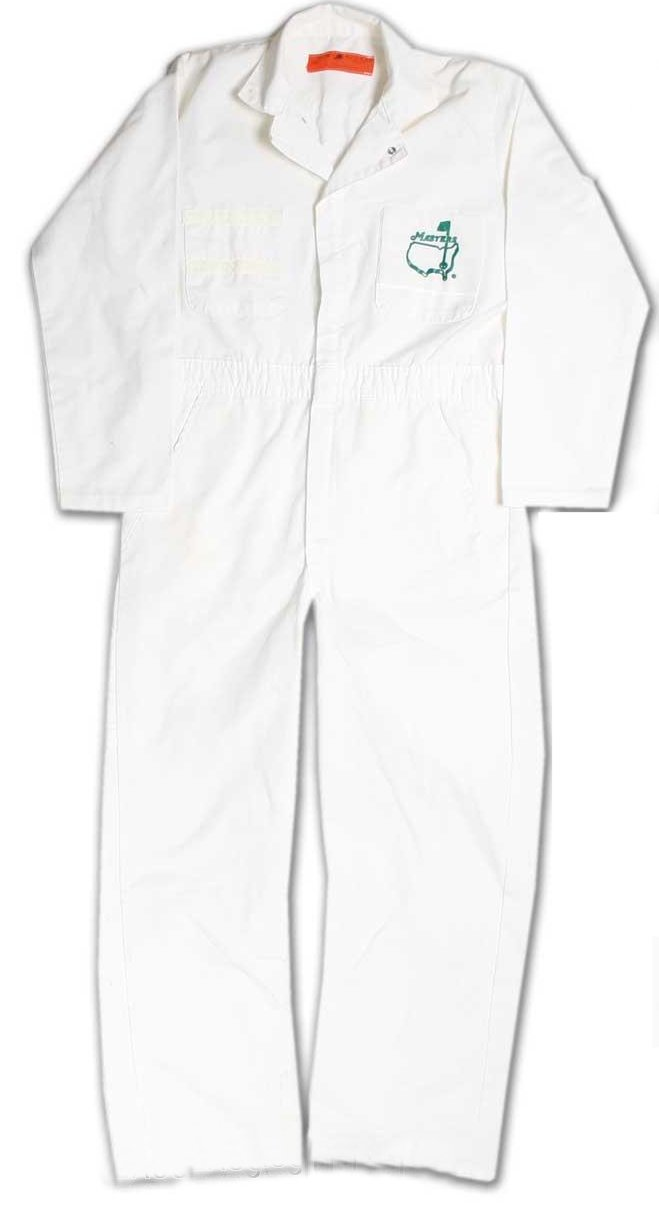 Caddie Coveralls US Masters golf tournament - coveralls co uk