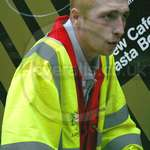 Road Sweeper Red Hi-vis Boilersuit