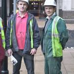 Three lads in workgear #2