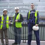Three lads in workgear #3