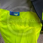 Traffic Light Engineer Wearing Hi-vis Yellow Super Touch Coveralls 1