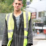 Young Lad Road Worker